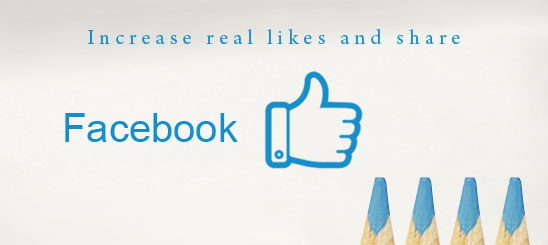 Increase FB likes and shares