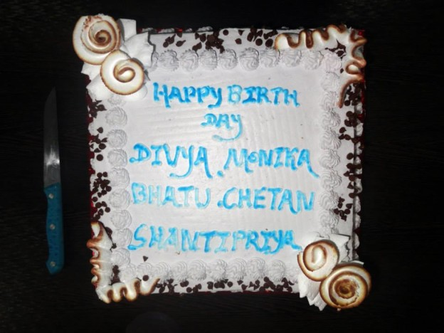 Birthday Celebration - September 2014