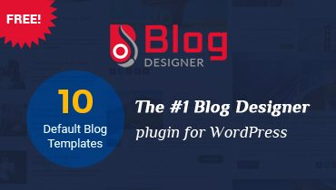 Blog Designer WordPress Plugin