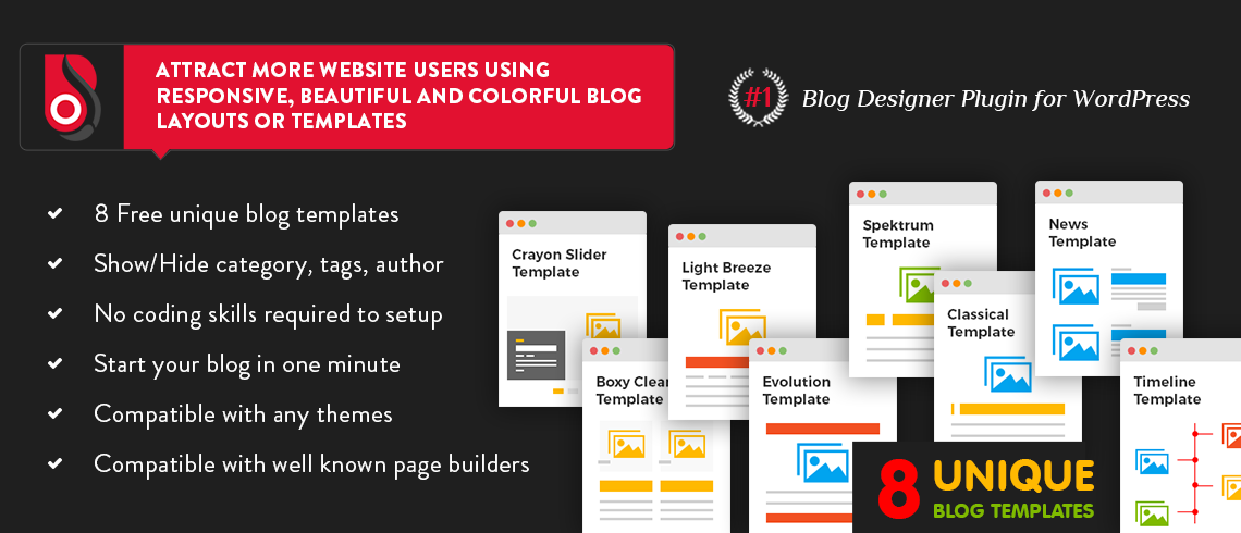 Blog Designer – WordPress Plugin