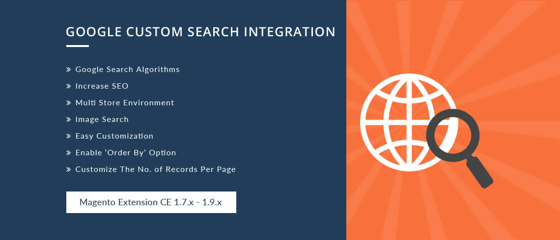Google Custom Search Integration - Magento Extension