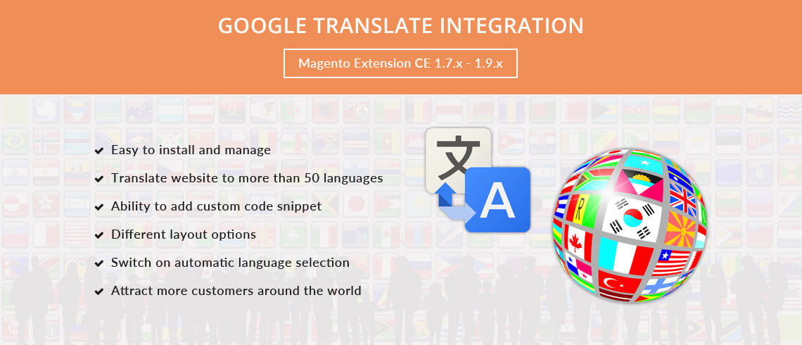 Google Translate Integration - Magento Extension