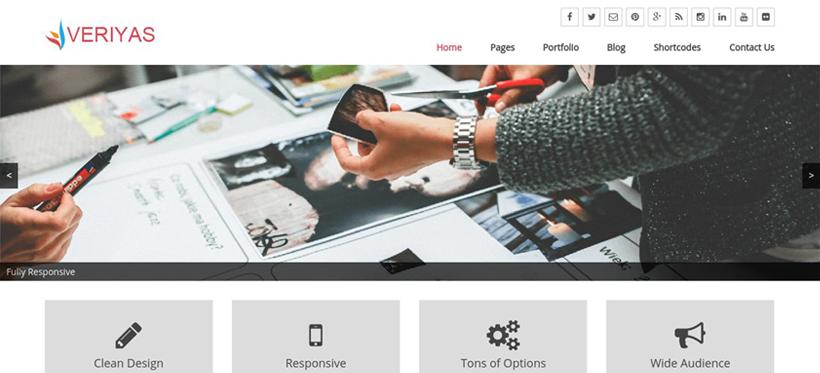 Veriyas WordPress Theme