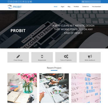 Probit WordPress Theme