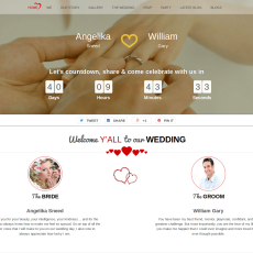 TwoGether Wedding WordPress Theme