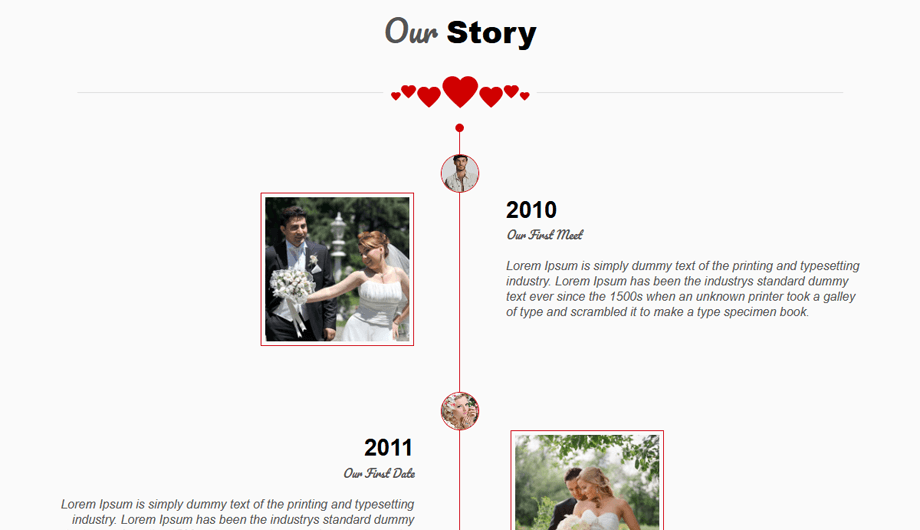 TwoGether – Our Story Section