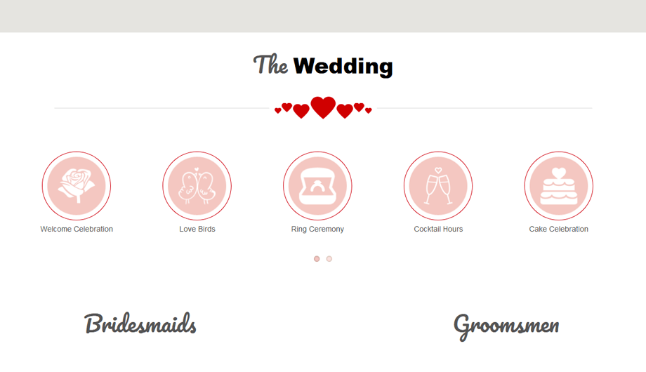 TwoGether – Our Wedding Section