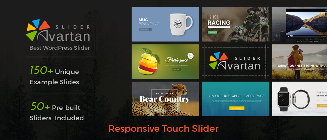 Avartan Responsive Slider WordPress Plugin