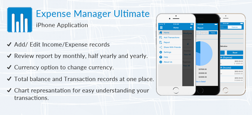 Introducing Expense Manager Ultimate - Free iOS App by