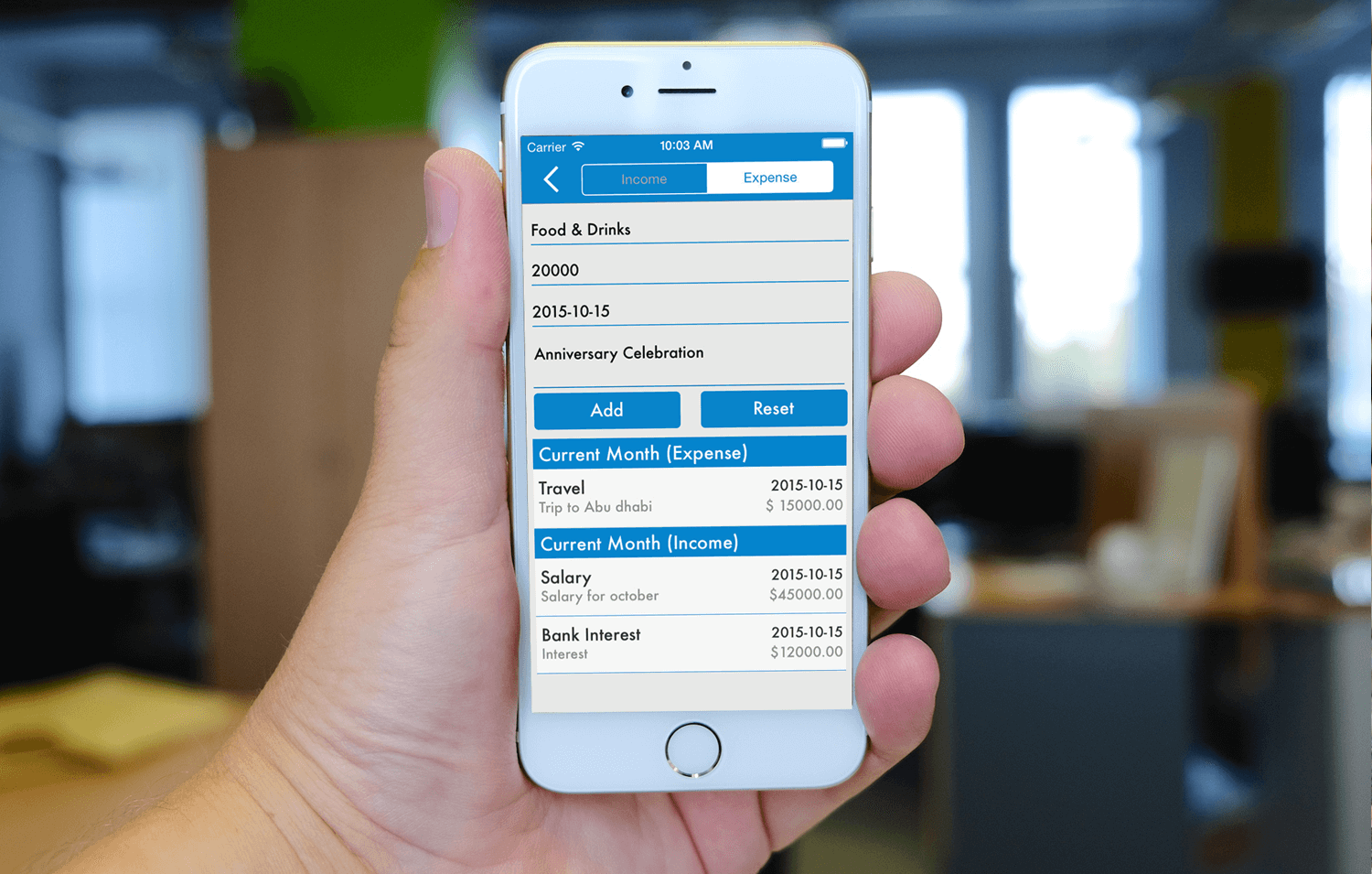 Expense Manager - Mobile App Development