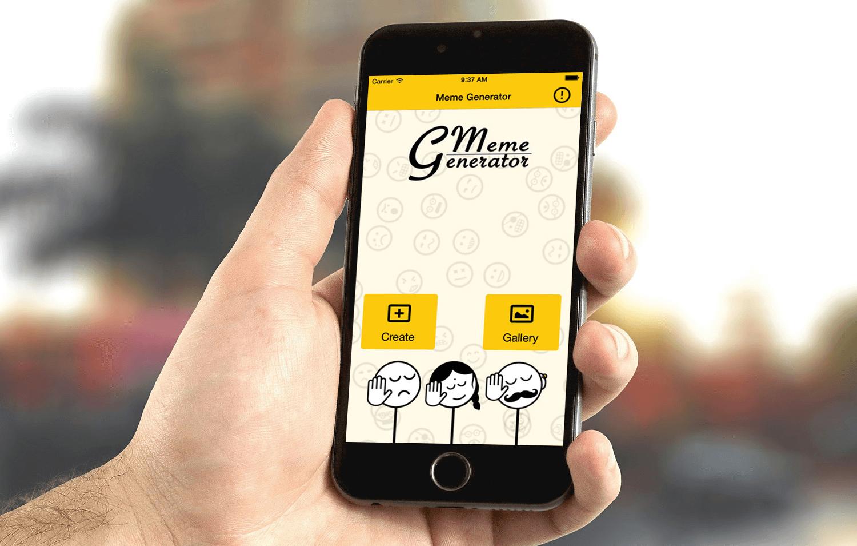 Meme Generator - Mobile App Development