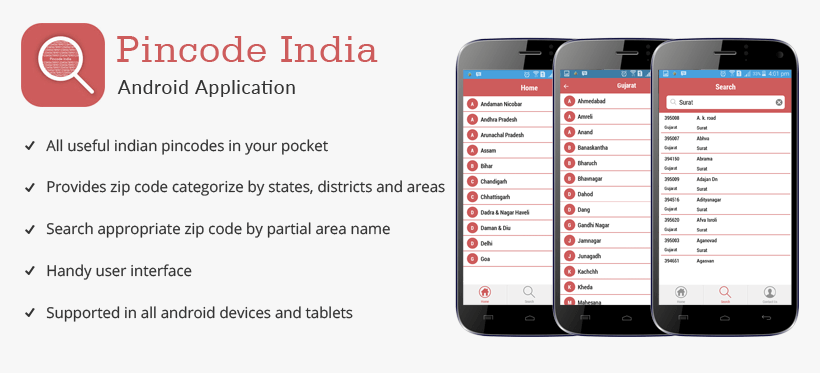 Pincode India Android Application