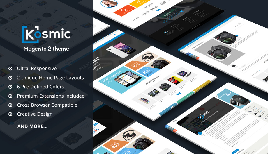 Kosmic – Magento 2 Multipurpose Theme
