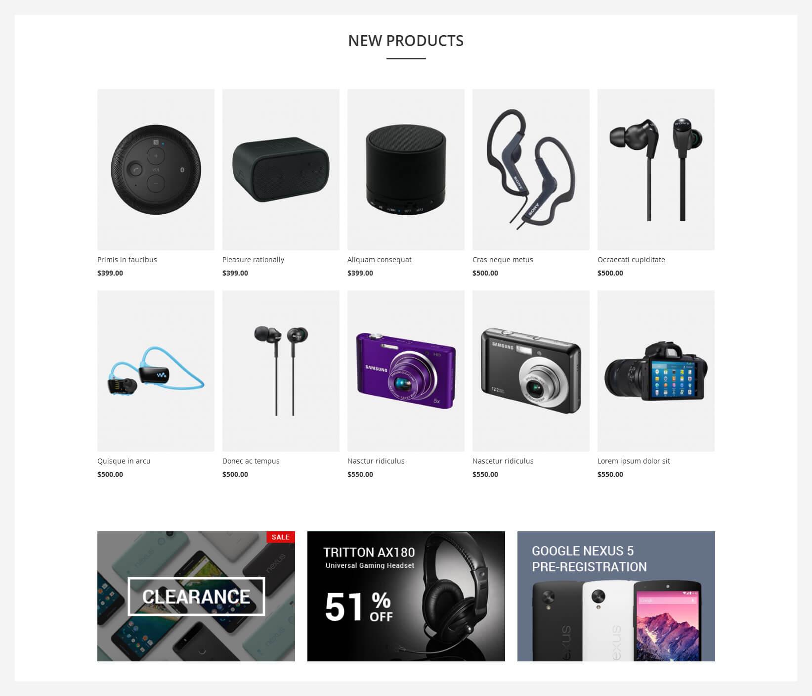 kosmic magento 2 theme new products