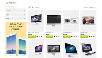 Kosmic Magento 2 Theme – Home Product List Page
