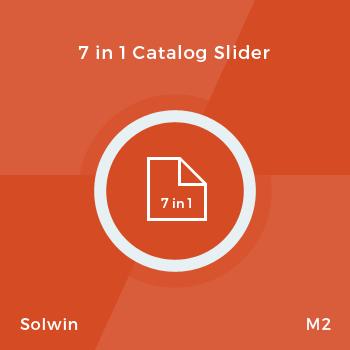 7 in 1 Catalog Slider - Magento 2 Extension