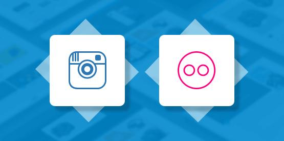 Kosmic Instagram and Flickr