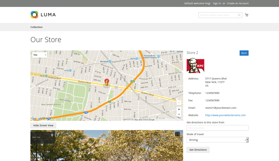 Store Locator Magento 2 Extension – Store Street View