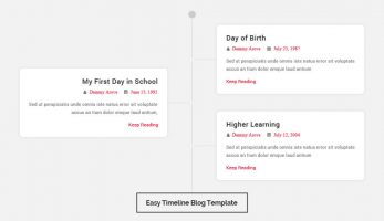 Blog Designer – Easy Timeline Template