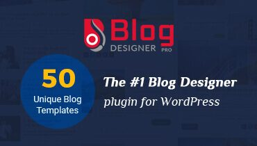 Blog Designer Plugin for WordPress