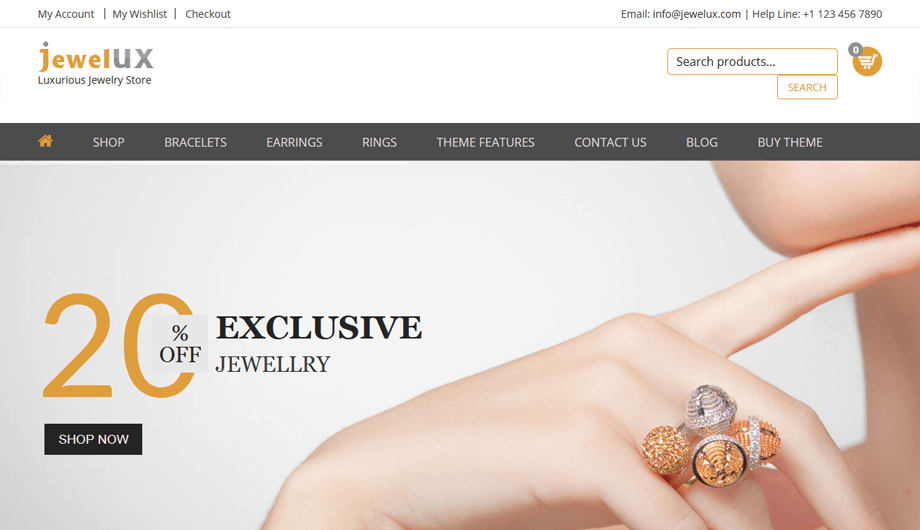 JewelUX – Home Page