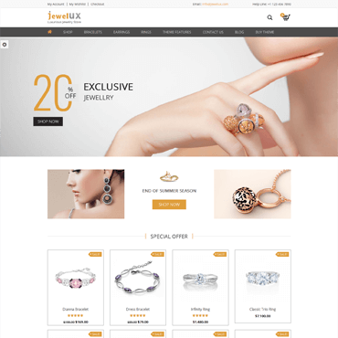 JewelUX - WordPress Jewelry Theme