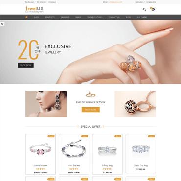 JewelUX - WordPress Jewelry Theme