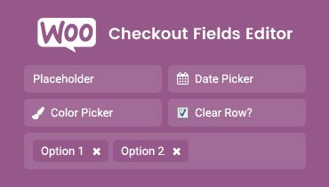WooCommerce Checkout Fields Editor WordPress Plugin