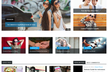Ybrant WordPress Theme