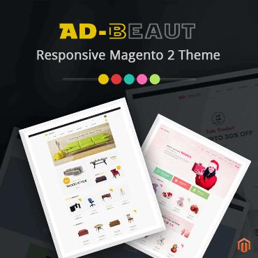 Ad-Beaut Responsive - Magento 2 Theme