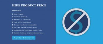 Hide Product Price – Magento 2 Extension