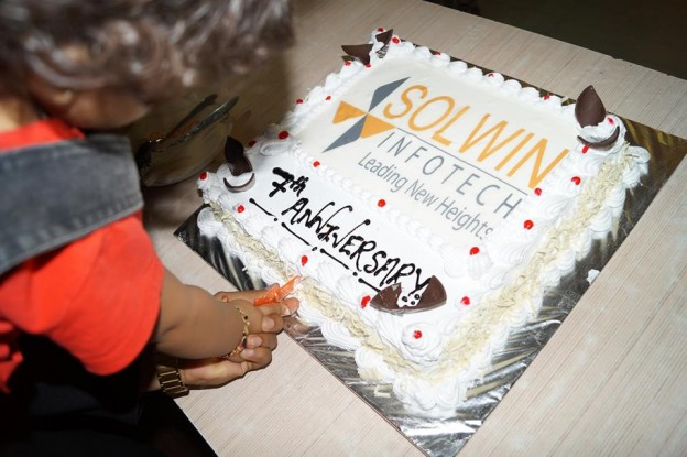 Solwin Infotech - 7 Year Anniversary Celebration