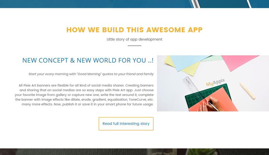 MyAppix – App Development Story