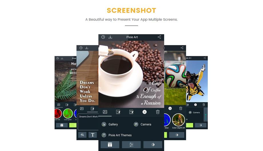 MyAppix – Mobile App Screenshots
