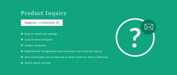 Product Inquiry – Magento Extension
