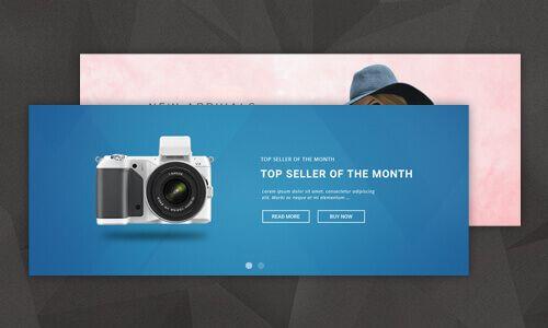 Shoptica Magento 2 Theme Responsive Banner Slider