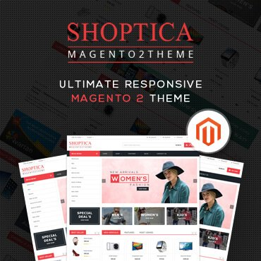 Shoptica Premium Responsive - Magento 2 Theme