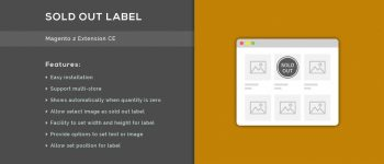 Sold Out Label – Magento 2 Extension