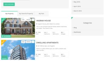 RealEstaty – Agent Property List