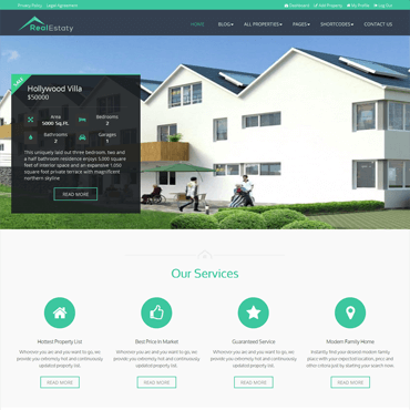 RealEstaty - Real Estimate WordPress Theme