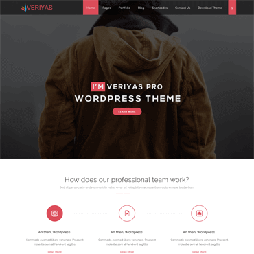 Veriyas PRO - Premium WordPress Theme