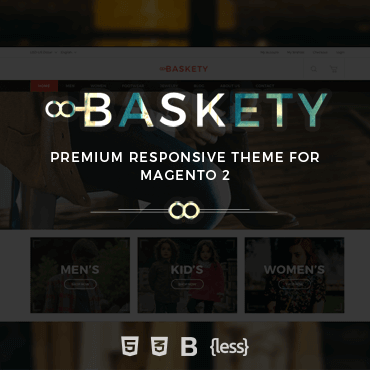 Baskety Responsive - Magento 2 Theme