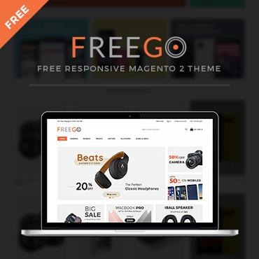 FreeGo Free Responsive - Magento 2 Theme