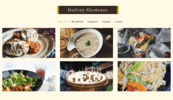 FoodFork – Gallery Showcase