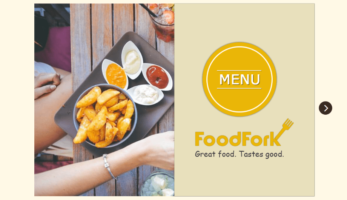 FoodFork – Menu Book
