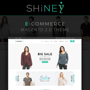 Shiney - Multipurpose Responsive Magento 2 Theme