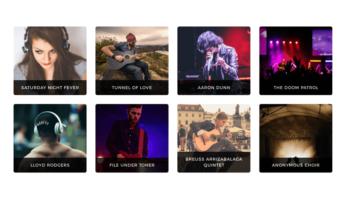 MusicTune WordPress Theme – Albums