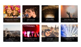 MusicTune WordPress Theme – Gallery
