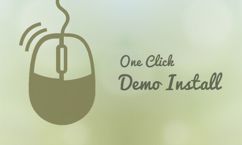Shiney One Click Demo Install