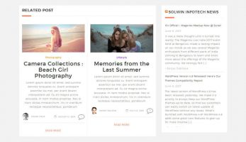 Single Blog Related Post Section – Bloggers Premium Blog Theme